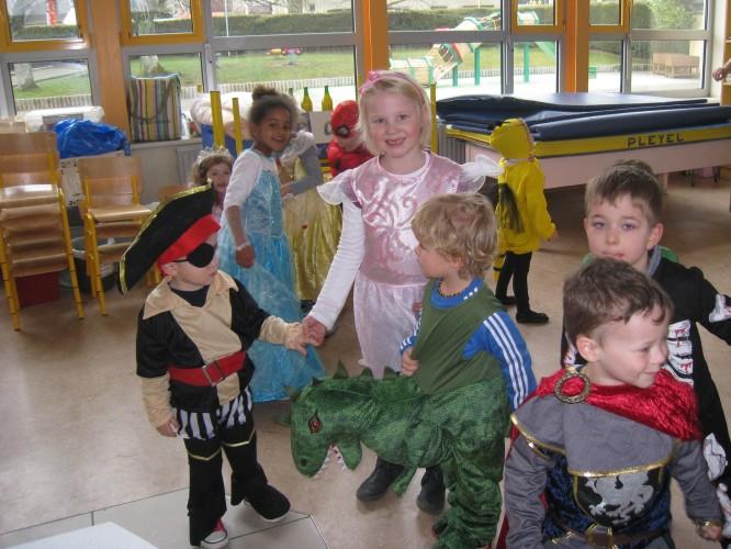 Carnaval en maternelle.