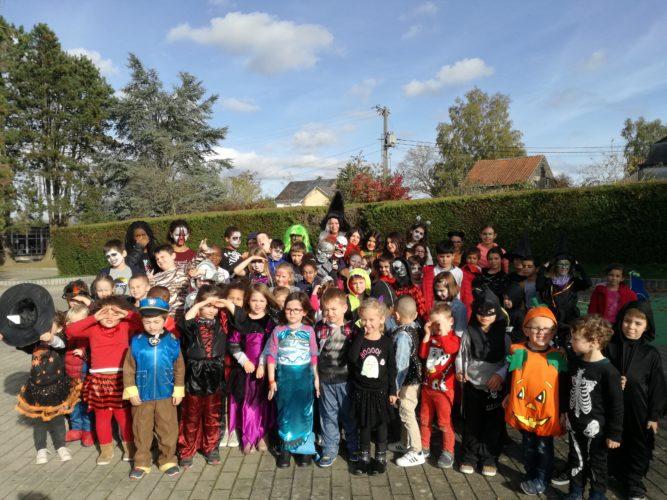 Halloween en primaire ce vendredi 25 octobre