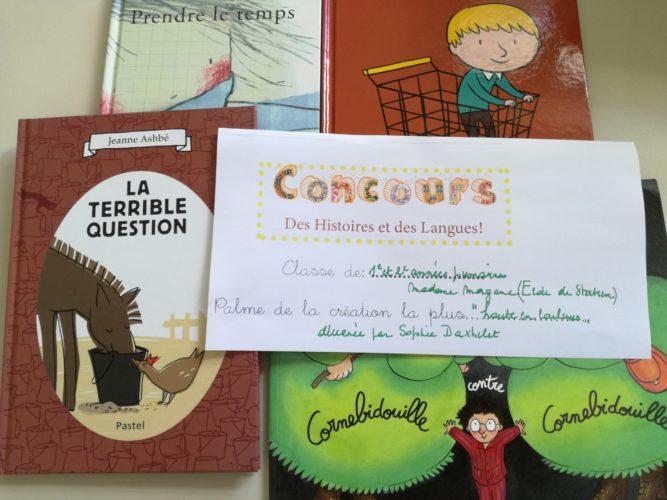 P1-P2 Concours : projet langues