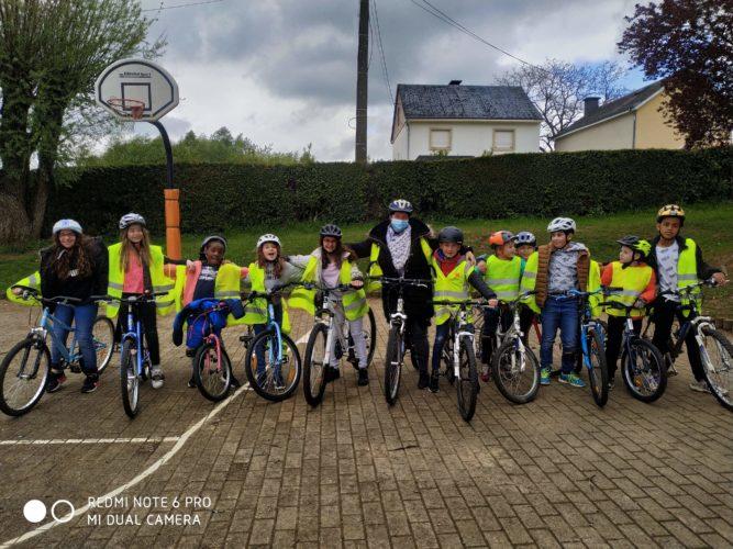 P3-P4: activité vélo