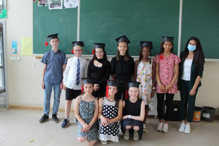 Remise du CEB aux élèves de 6ème année